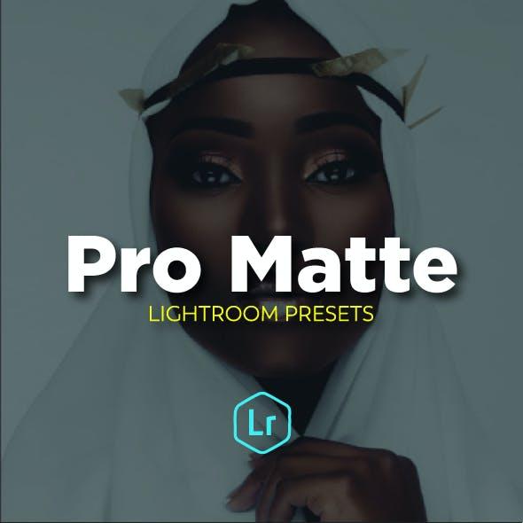 Pro Matte Portrait Lighroom Presets