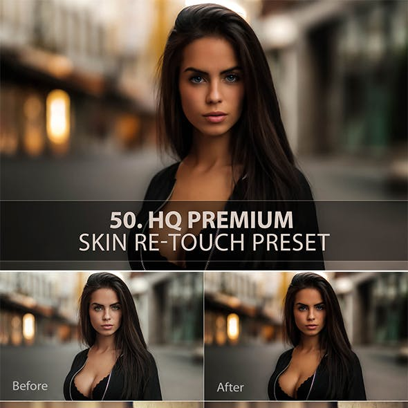 50. Premium Skin Re-Touch Preset