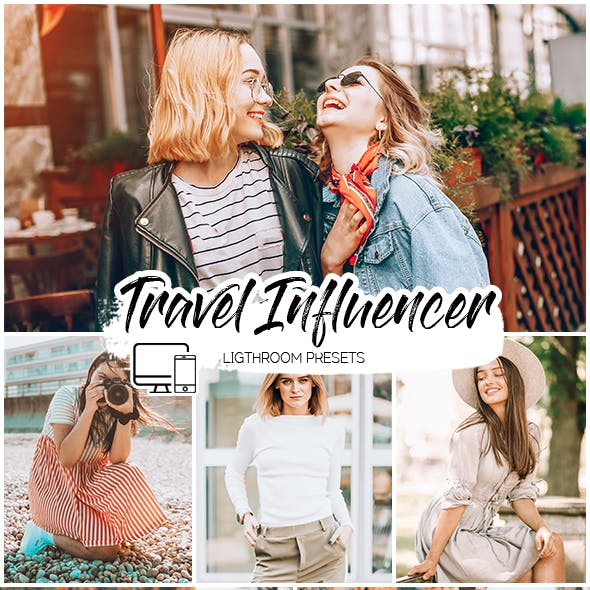 Travel Influencer Lightroom Presets