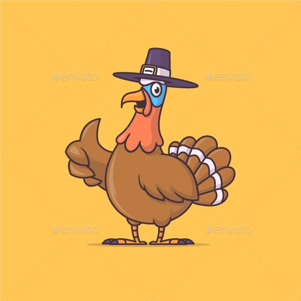 Thanksgiving Turkey - Animals Characters
