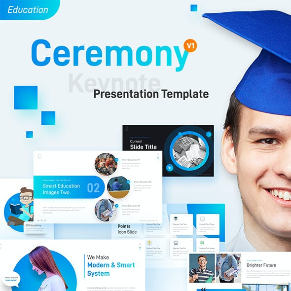 Ceremony Education Keynote Presentation Template