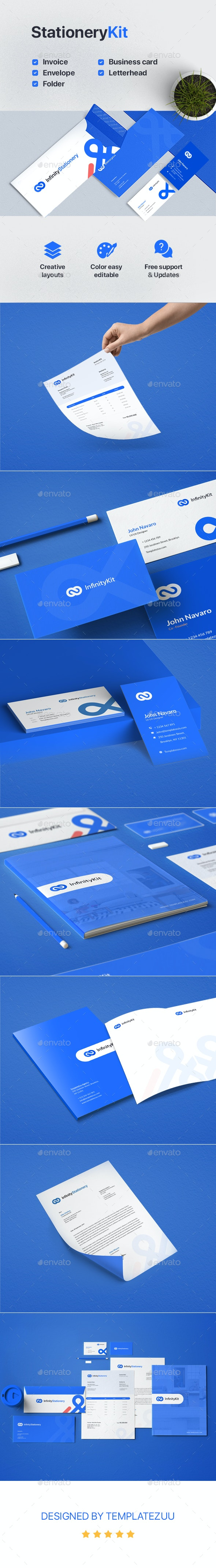 InfinityKit Stationery - Stationery Print Templates
