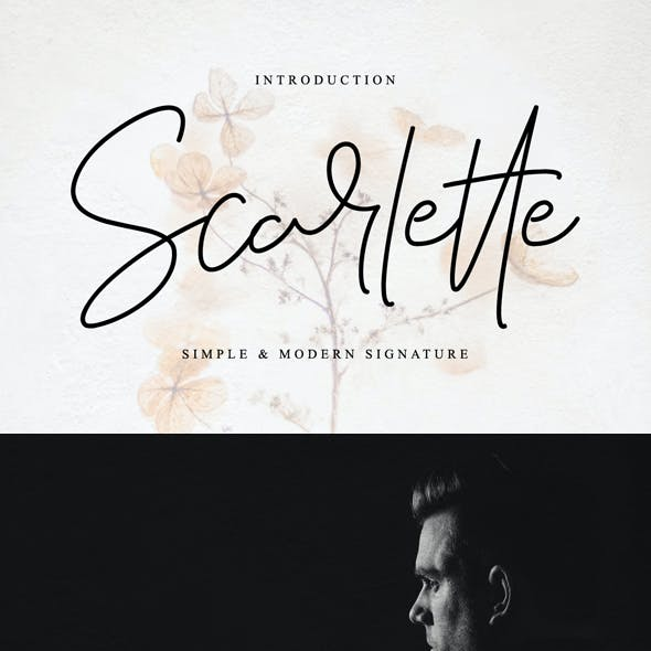 Scarlette - Simple and Modern Signature