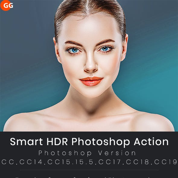 Smart HDR Photoshop Action