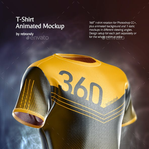 T-Shirt Animated Mockup
