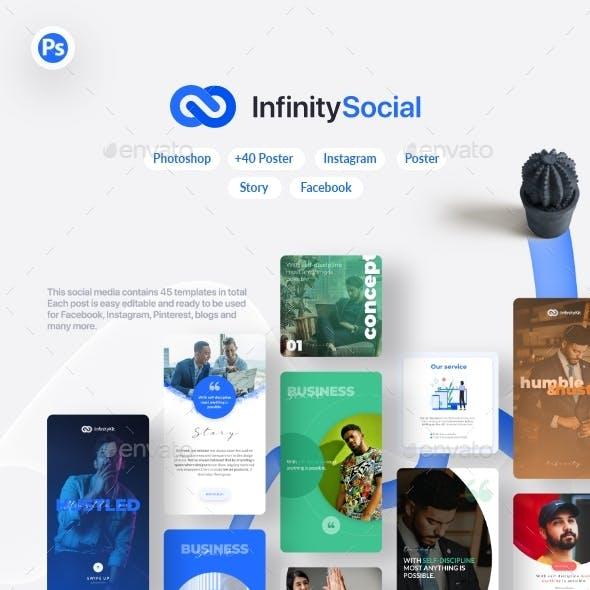 InfinityKit Social Template