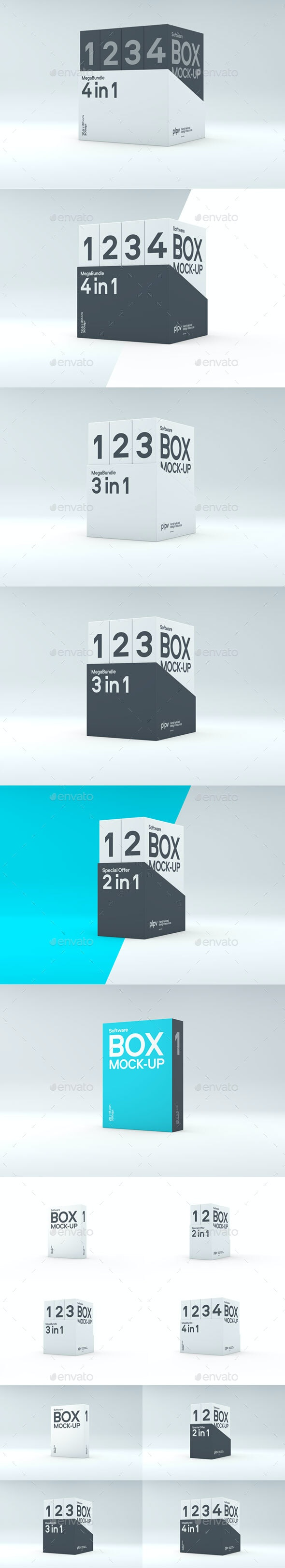 Software Suite Mock-up - Miscellaneous Packaging