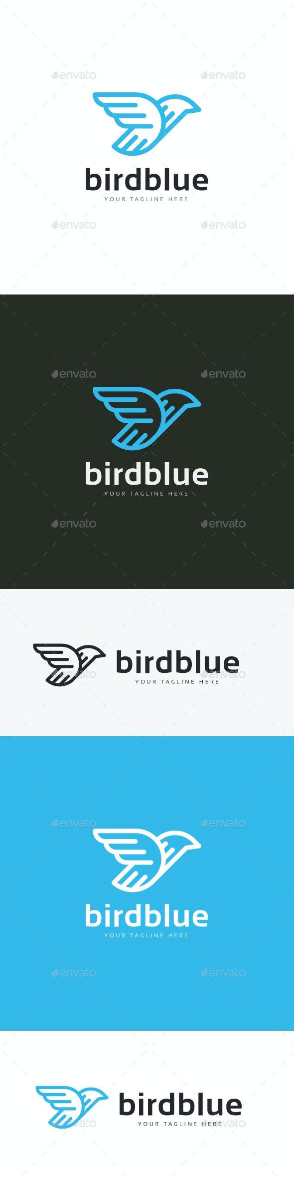Birdblue Logo - Animals Logo Templates