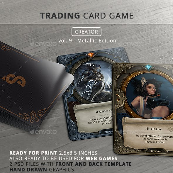 Trading Card Game Creator - Vol 9