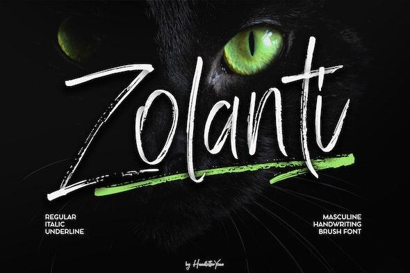 Zolanti - Hand-writing Script