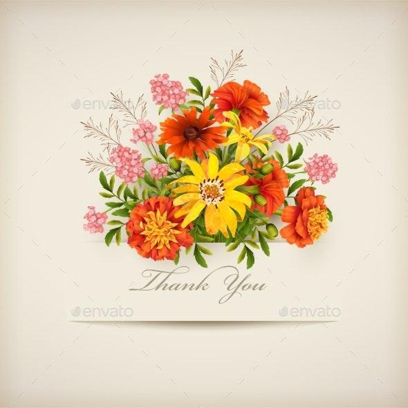 Thank You Card - Miscellaneous Seasons/Holidays