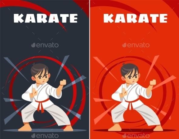 Karate Kid - Sports/Activity Conceptual