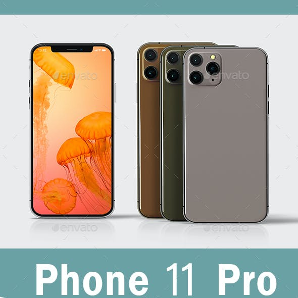 Phone 11 Pro Mockup