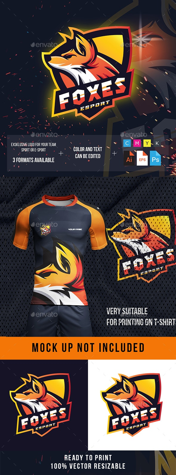 Fox Logo - Sports Logo Templates