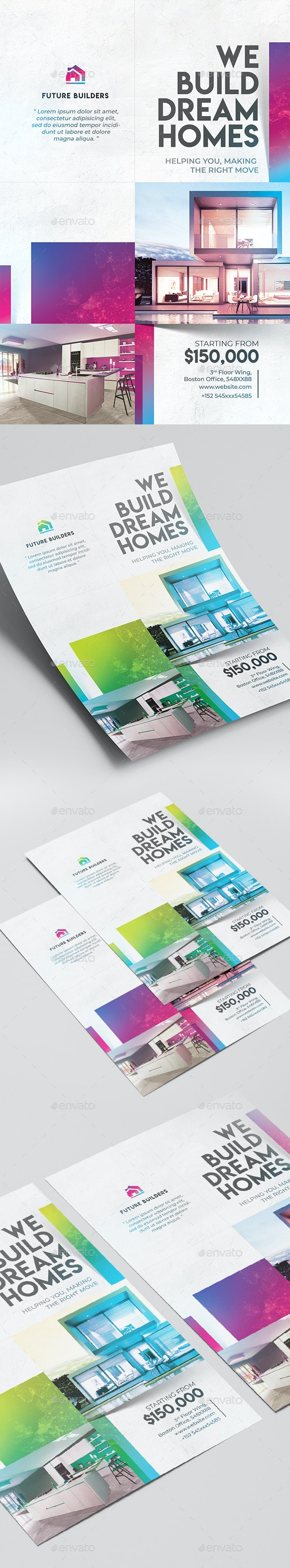 Creative Real Estate Flyer - Commerce Flyers