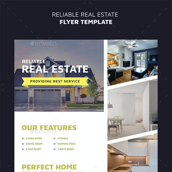 Reliable Real Estate Flyer