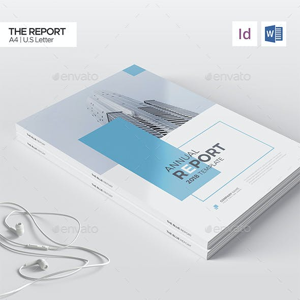Word Annual Report 16 Pages