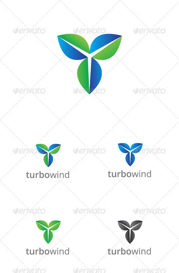 Turbo City Logo Template - Vector Abstract
