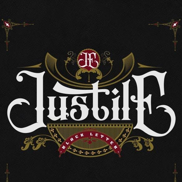 Justile Black Letter
