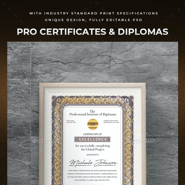 Pro Certificates