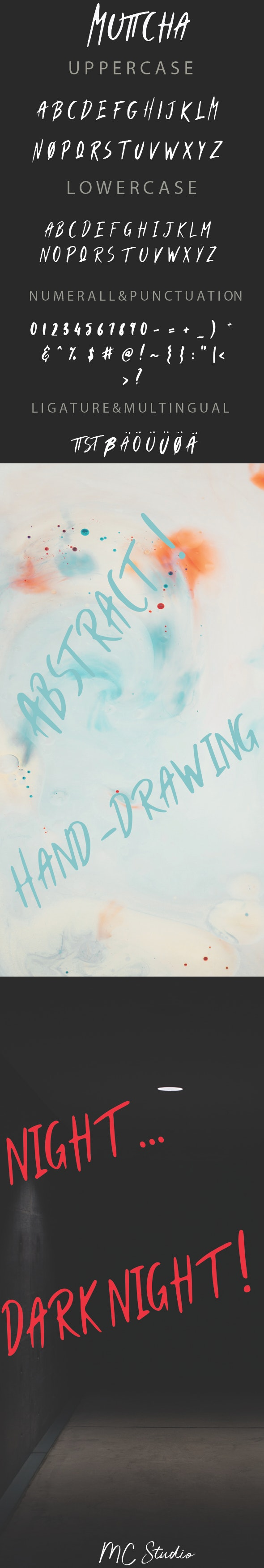 Muttcha - Hand-writing Script