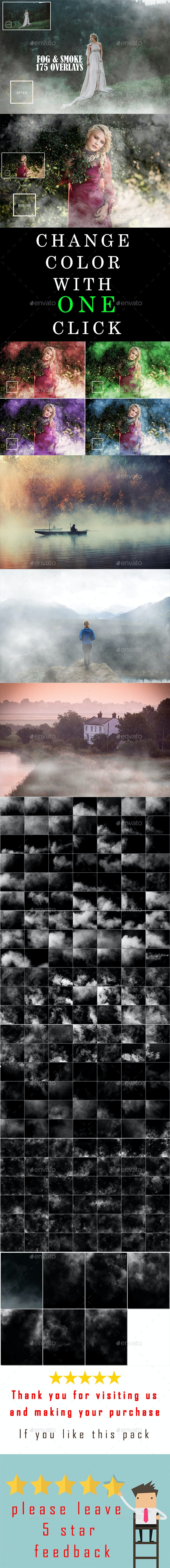 175 Fog & Smoke Overlays - Miscellaneous Backgrounds