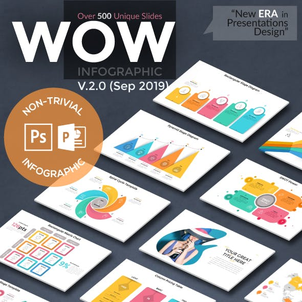 Wow Slides For Powerpoint. U-2 (190 New Slides!)