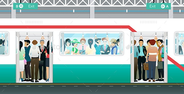 Subway Crowded - Services Commercial / Shopping