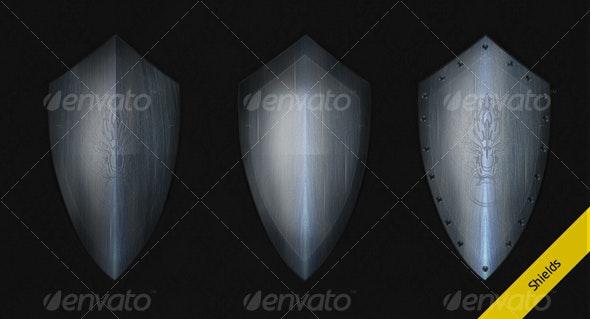 Shield - Objects Illustrations
