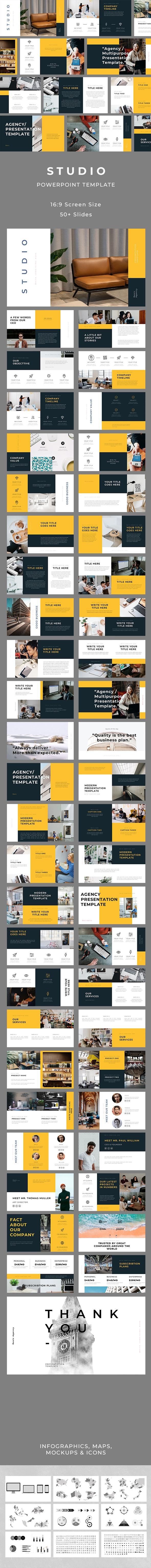 Studio PowerPoint - Business PowerPoint Templates