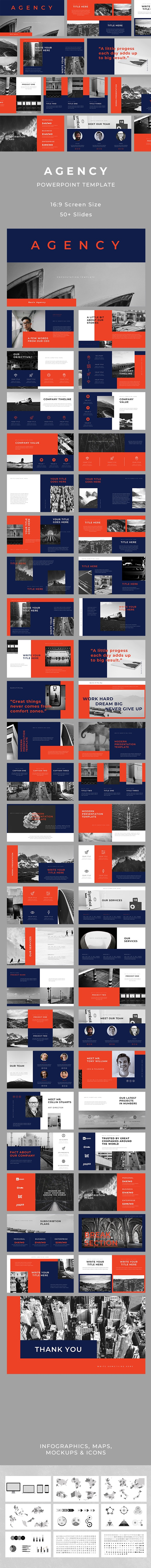 Agency PowerPoint - Business PowerPoint Templates