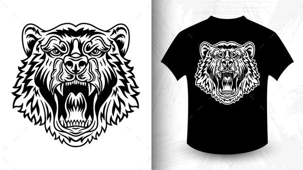Bear Head - Miscellaneous Vectors