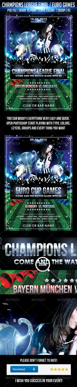 Champions League Final - Sports Events