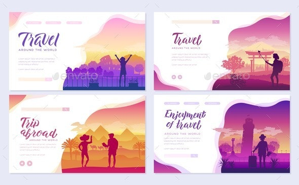 Travel Around the World - Travel Conceptual