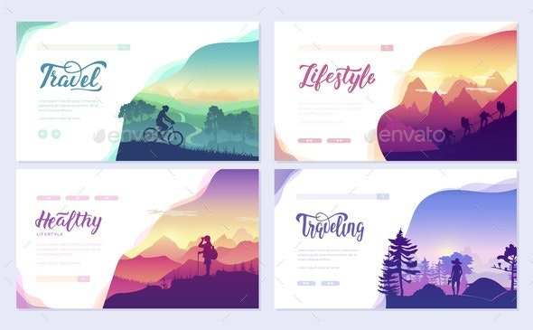 Rest and Vacation Travel - Sports/Activity Conceptual