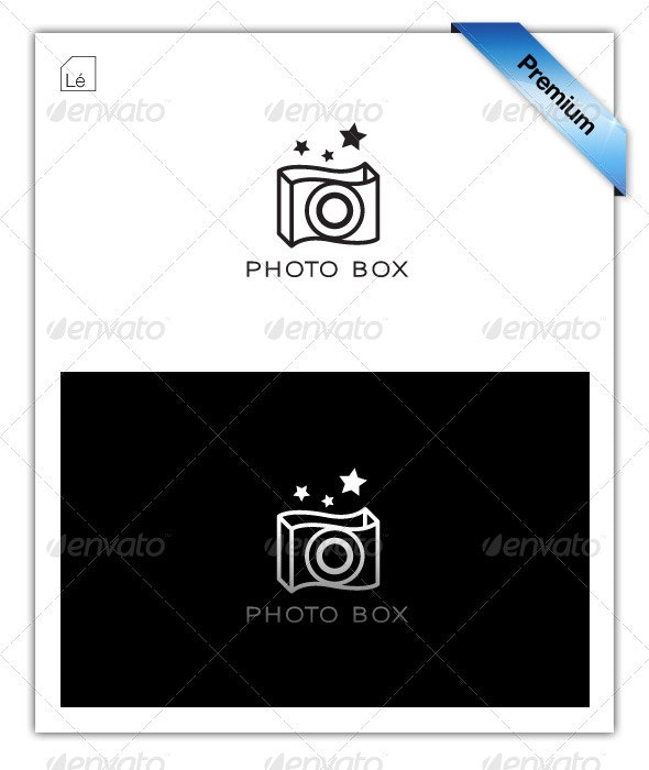 Photo Box Photography Logo - Objects Logo Templates