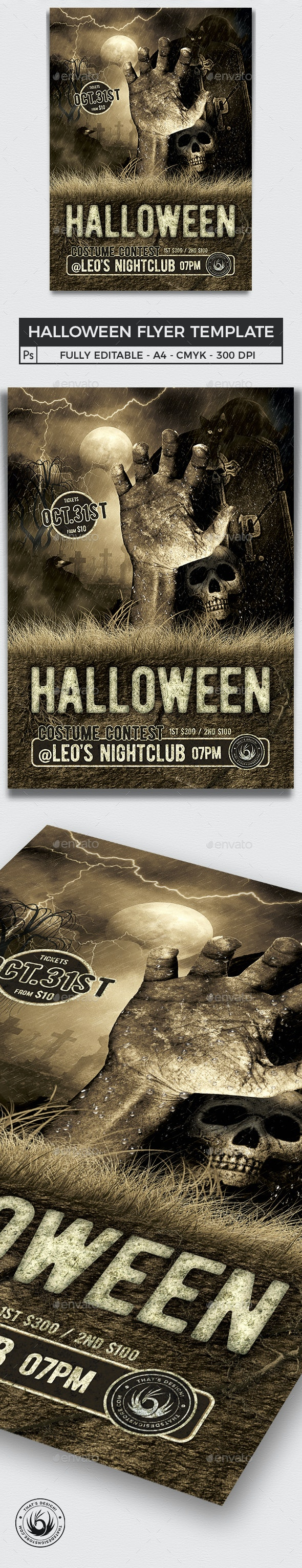 Halloween Flyer Template V2 - Holidays Events