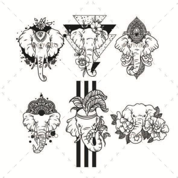 Elephants - Animals Characters