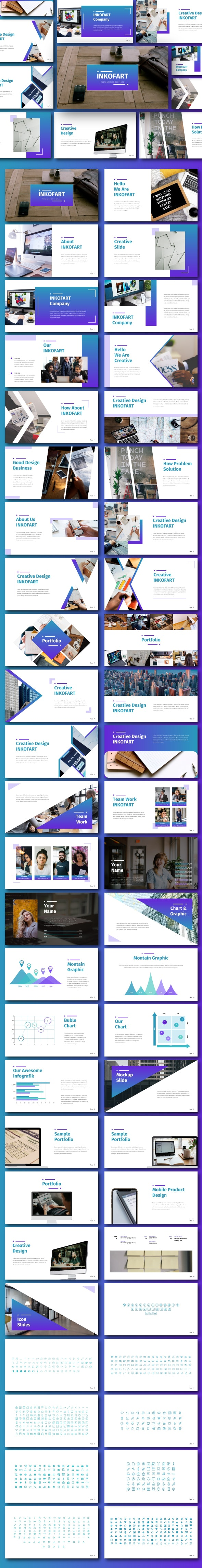 Inkofart - Business Powerpoint Template - Business PowerPoint Templates
