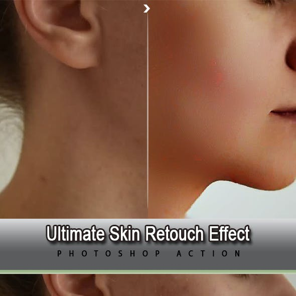 Ultimate Skin Retouch Effect Photoshop Action