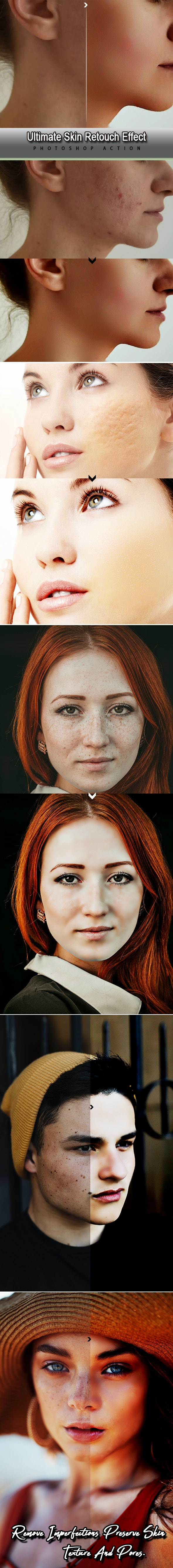 Ultimate Skin Retouch Effect Photoshop Action - Photo Effects Actions
