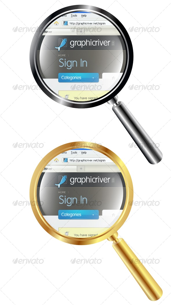 Magnifying Lens - Web Technology