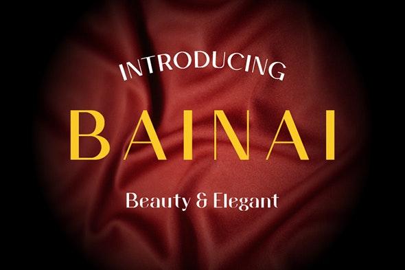 Bainai - Sans-Serif Fonts