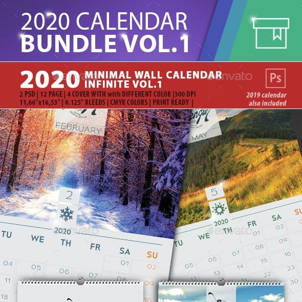 2020 Calendar Box Bundle Vol.1