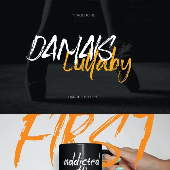 Damais Handbrush Font