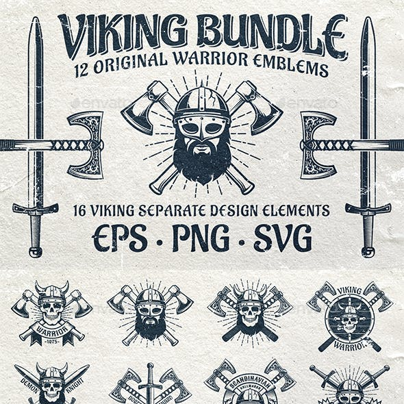 Viking Emblem Bundle