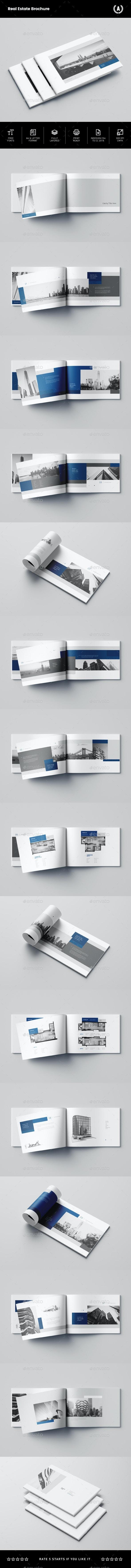 Real Estate Brochure - Brochures Print Templates