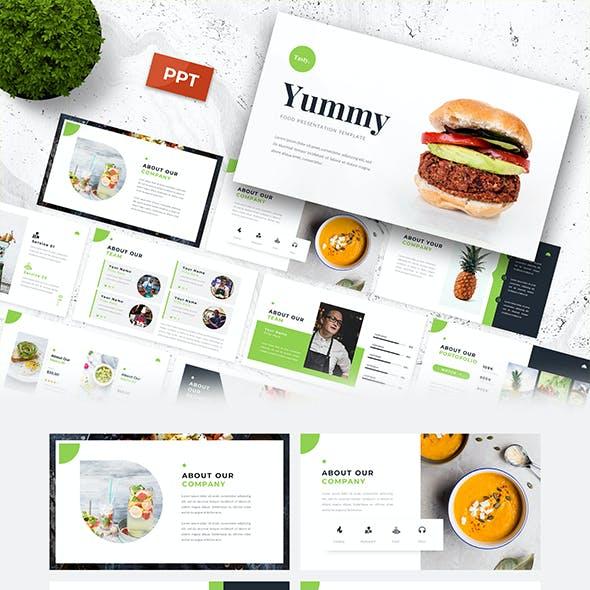 Yummy - Food Presentation Template