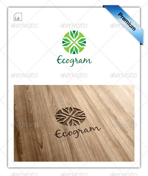 Abstract Eco Organic Logo - Abstract Logo Templates