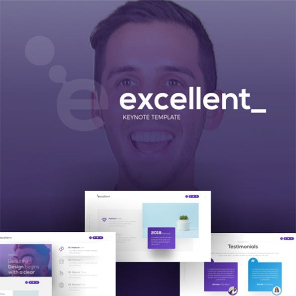 Excellent Creative Keynote Presentation Template